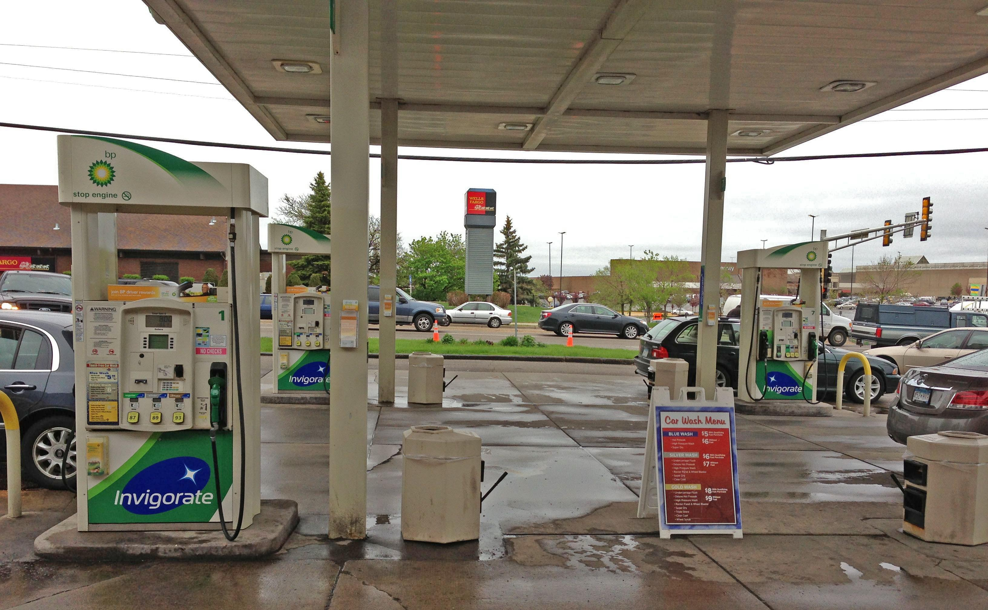 bp gasoline invigorate Rosedale bp