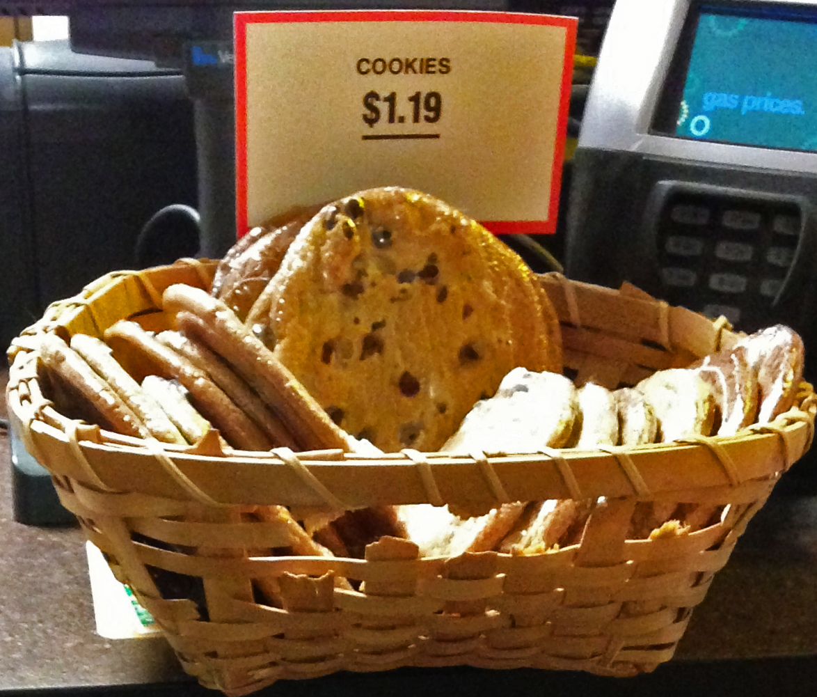 Cookies at Rosedale BP